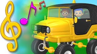 TuTiTu Songs | Jeep Song | Songs for Children with Lyrics