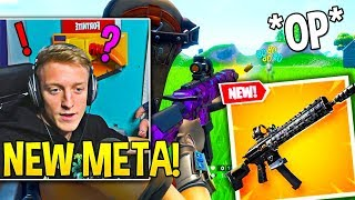 TFUE & STREAMERS *GO CRAZY* Using *NEW* TACTICAL ASSAULT RIFLE! - Fortnite Moments
