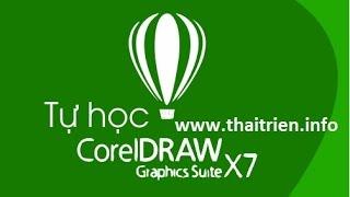 [Tự học CorelDraw X7] - Bài 7. Sử dụng Fill tools tô màu, Tranperancy tạo trong suốt