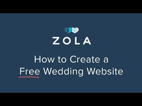 Zola | Free Easy Wedding Website Templates | How It Works