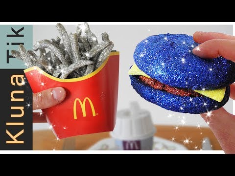 McDonald's GLITTER Menu!!! (special Edition With Edible Gold & Silver Glitters)