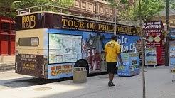 USA: Bus tour in Philadelphia 2015