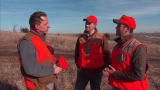 Pheasant hunting with Donald Trump's sons