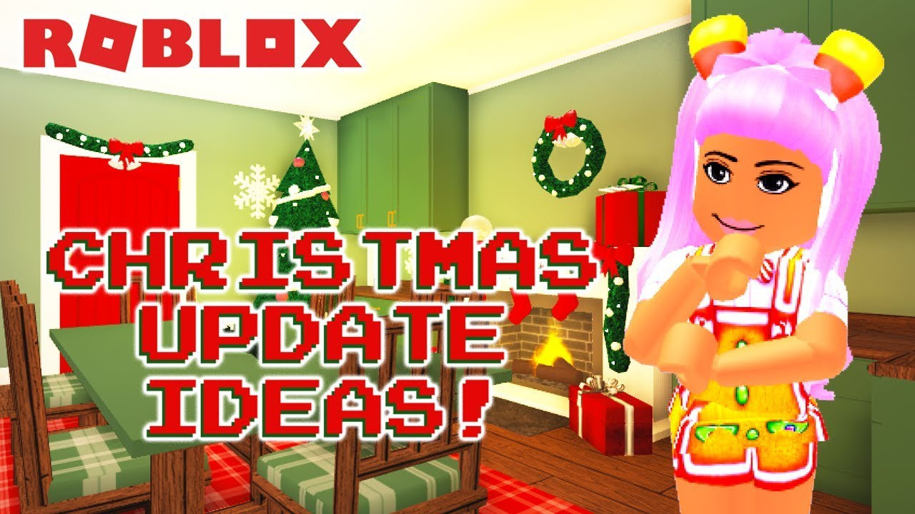 When Will The Bloxburg Christmas Update Come Out 2020 15 THINGS I WANT TO SEE IN THE BLOXBURG CHRISTMAS UPDATE