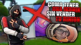 HOW TO HAVE AN IKONIK SKIN WITHOUT SELLING YOUR RIIN FORTNITE BATTLE ROYALE