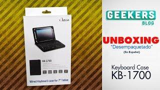 OMEGA KB-1700 - Keyboard Case | Unboxing en Español