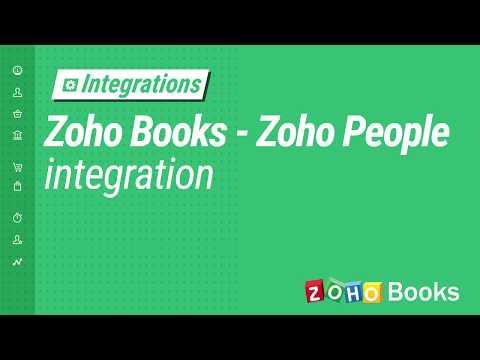 Zoho Books - Zoho People Integration