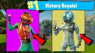 "Fortnite NEW ""TOMATO TOWN"" SKINS LEAKED! Leviathan, Tomato Head NEW SKINS! Fortnite Battle Royale"