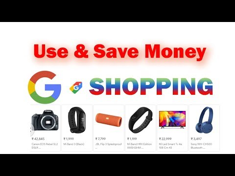 Google shopping in India now - A better way to online shopping