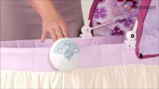 Детская кроватка люлька Jetem Dream(http://jerababy.ru/magazin/detskie-manezhi/detskie-manezhi-krovati-jetem/detskaya-krovatka-lyulka-jetem-dream-detail.html Детская кроватка - люлька Jetem ..., 2013-05-23T19:47:38.000Z)