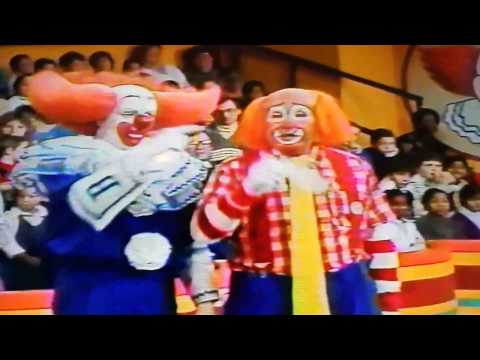 Shawn on the Bozo Show - Grand Prize Game!