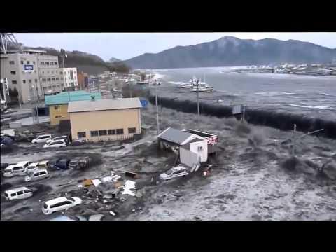 Японское цунами Страшно