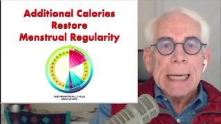 Additional Calories Restore Menstrual Regularity