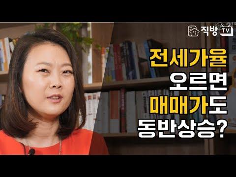 아파트 전세가율과 매매과의 상관관계! l 빠숑과 월천대사의 부동산 인터뷰, 직터뷰