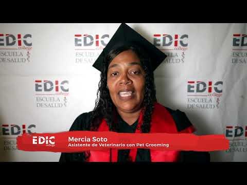 Testimonial Mercia Soto en Graduacio?n EDIC College 2019