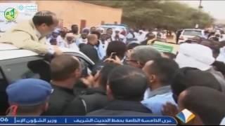 جزء من الحديث الذي دار بين رئيس الجمهورية وتجمع شباب تامورت النعاج - قناة المرابطون