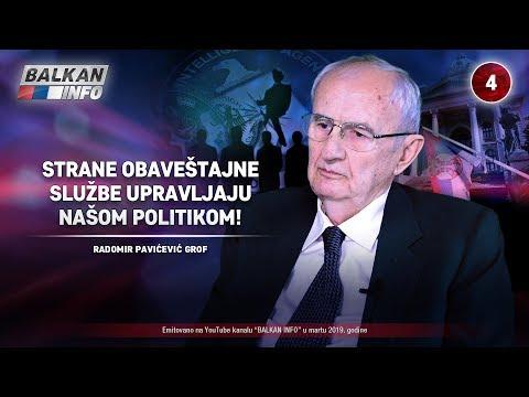 INTERVJU: Radomir Pavićević Grof - Strane obaveštajne službe upravljaju našom politikom! (21.3.2019)
