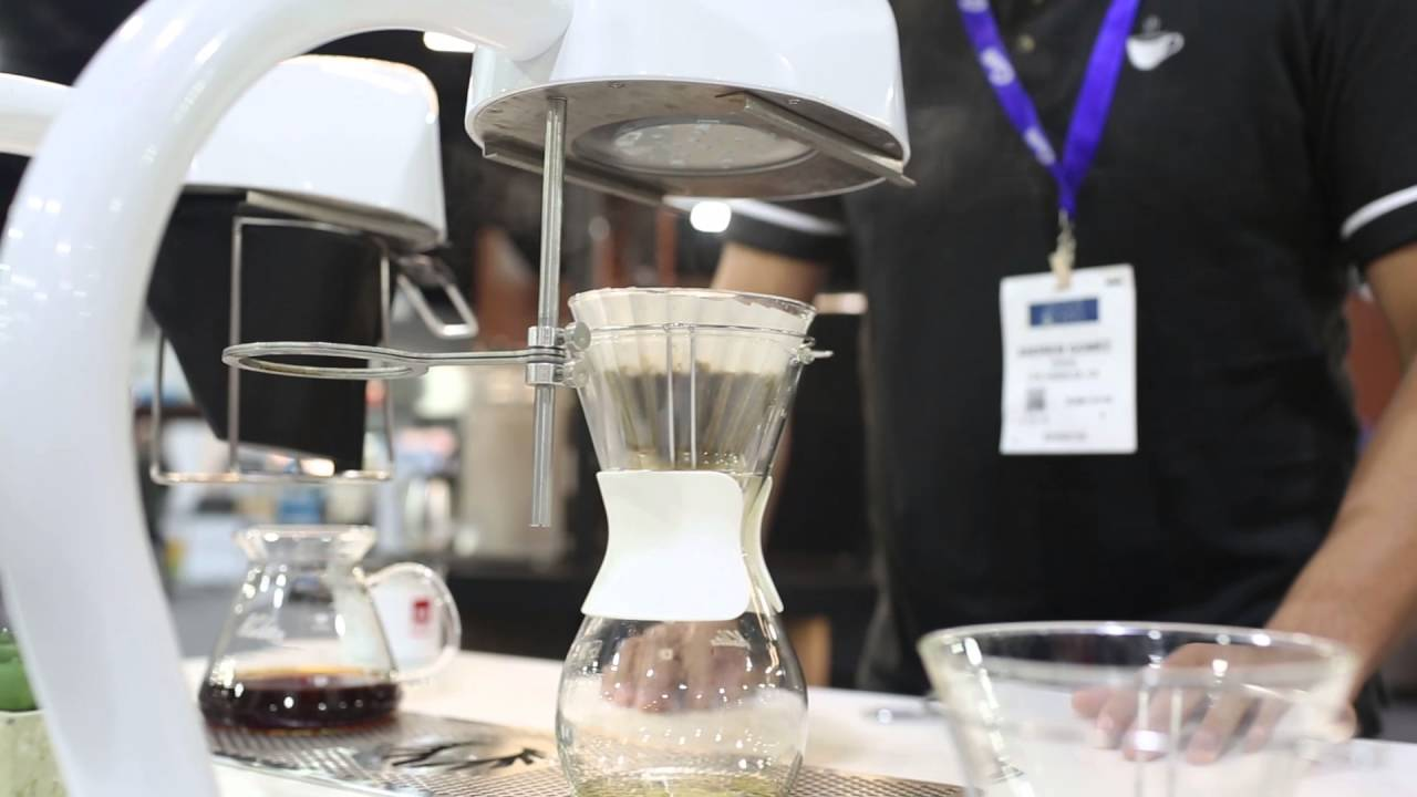 SCAA 2016 Show Highlights: Curtis Seraphim Undercounter Coffee Brewer
