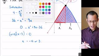 Basic Compound Regions (1 of 4: Finding the point of intersection)