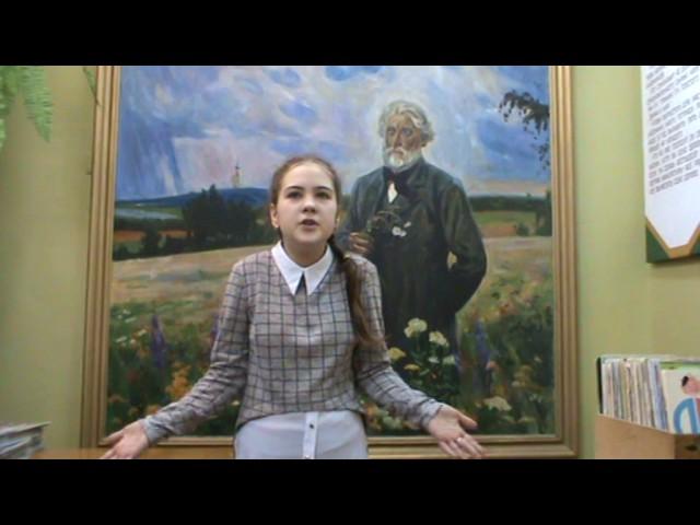 Изображение предпросмотра прочтения – АлександраМальцева читает произведение «Чародейкою Зимою…» Ф.И.Тютчева