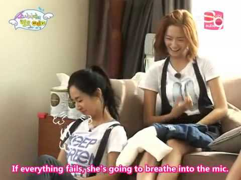 How Seohyun behaves when she is angry and cries