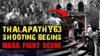 Thalapathy 63 Mass Fight Scene   Shooting Begins   Vijay Ultimate Action   Atlee