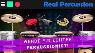 Real Percussion Die einfachste, schnellste, angenehmste und Weg um Perkussion zu lernen!