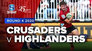 Super Rugby 2020 | Crusaders v Highlanders - Rd 4 Highlights