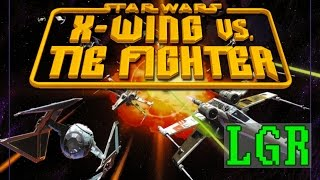 LGR - Star Wars X-Wing vs. TIE Fighter - PC Game Review