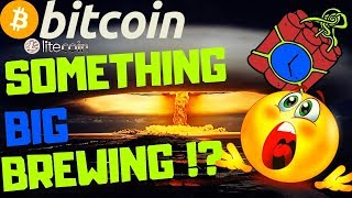 🔥BITCOIN SOMETHING BIG BREWING!?🔥bitcoin litecoin price prediction, analysis, news, trading
