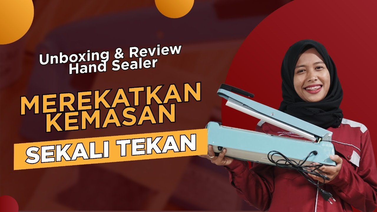 Unboxing & Review Hand Sealer, 0822 2330 3939