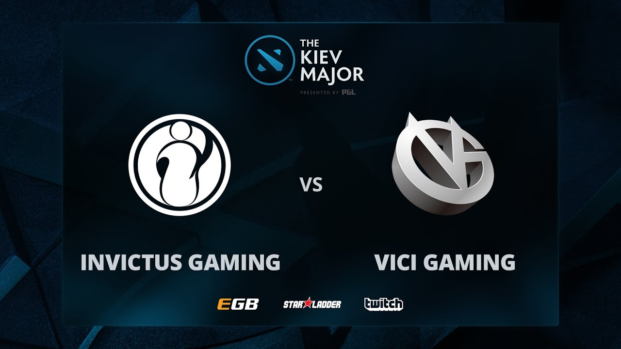 Invictus Gaming vs Vici Gaming, The Kiev Major CN Main Qualifiers