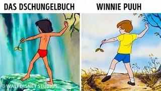 14 Animationen, die Disney in mehreren Filmen benutzt hat