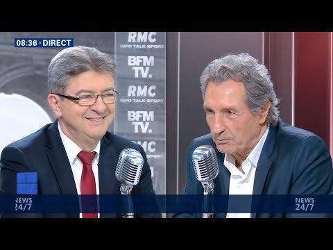 «NOUS DÉFENDONS LES ACQUIS SOCIAUX DES TRAVAILLEURS» - Mélenchon chez Bourdin