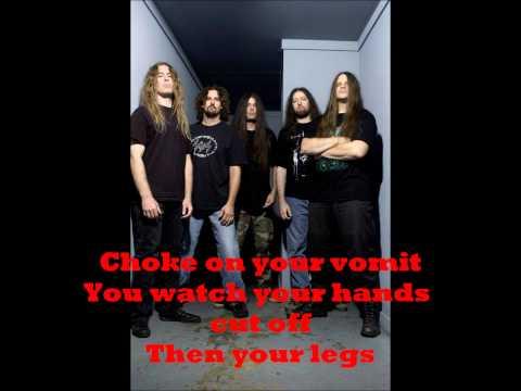 Cannibal Corpse- I will kill you (Testo)