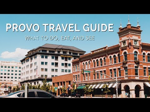 What to do in Provo, UT | Landon Creative