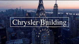 Chrysler Building Drone 6k
