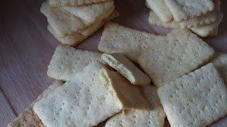 Домашнее галетное печенье по типу Мария/Cracker