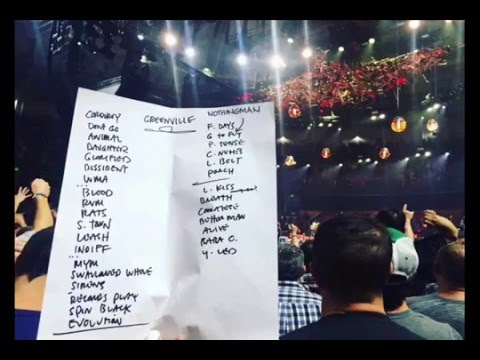 Pearl Jam Live Greenville SC 4/16/2016 (full show audio) (album VS in full)