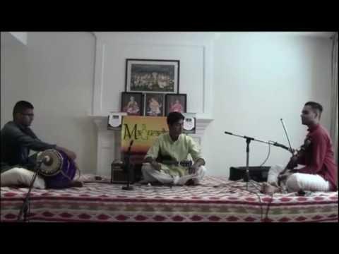 Maduradhvani Toronto 2016 series - Concert #12 by Chi Siddharth Vijay August 28, 2016