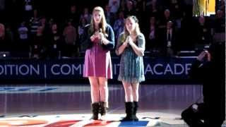 Lone Star Conference College Basketball Championship National Anthem Performance Two