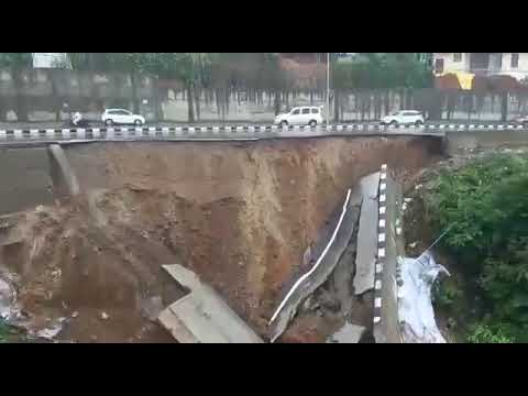 Landslide at NH-415 in the heart of smartcity Itanagar on May 31, 2021 | The News Mill