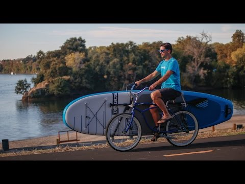 Using MBB Longboard Racks with your Stand Up Paddleboard