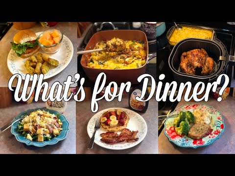 What's for Dinner?| Easy & Budget Friendly Family Meal Ideas| August 12-18, 2019