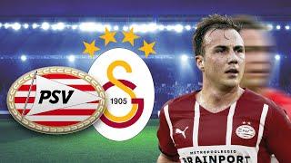 PSV-Gala in der CL-Quali! Götze und Zahavi zerlegen Galatasaray! |
