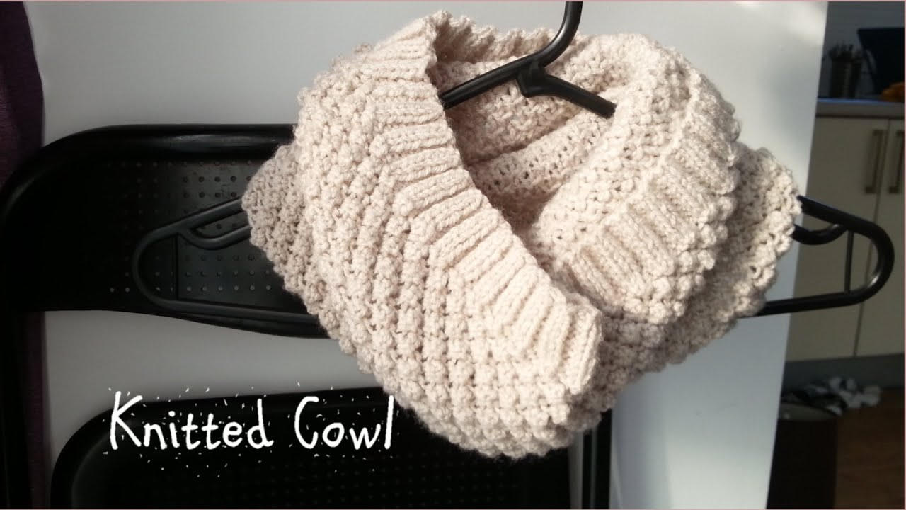 Knitted Cowl | Get Ready For Winter | Knitted Collection - YouTube