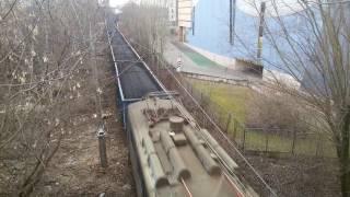 ET41-030 w drodze do EC Łęg Kraków al.Pokoju wiadukt
