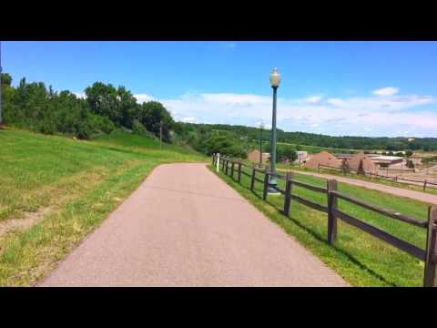 Craziest Ride On The Sioux Falls Bike Trail