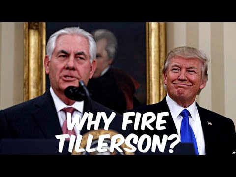 BREAKING: The Real Reason For Pompeo Being Hired and Tillerson Being Fired