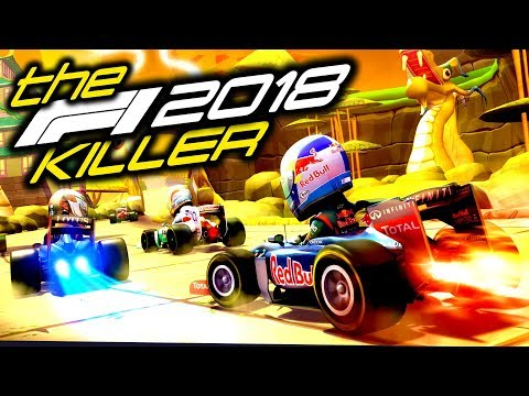 STARTING A CAREER ON THE BEST F1 GAME! - The F1 2018 Game Killer |